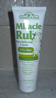 Miracle Rub Pain Relieving Cream